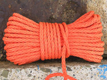 Nylon rope Stock Photo