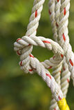 Nylon rope. Royalty Free Stock Photo