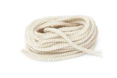 Nylon rope. Isolated with white background Stock Photography
