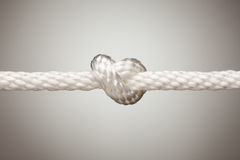 Nylon Rope Knot Royalty Free Stock Photography