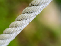 Nylon Rope Pulls Taut Stock Images