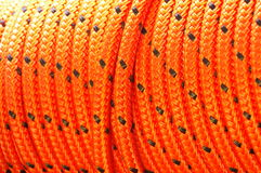 Nylon rope texture Royalty Free Stock Photography