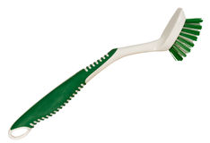 Nylon scrub brush Stock Photos