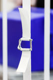 Nylon strapping royalty free stock photo