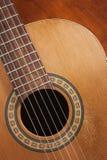 Nylon String Guitar Royalty Free Stock Images