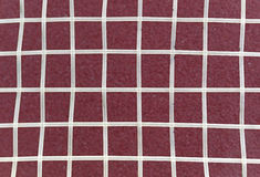 Nylon strings over a maroon background Royalty Free Stock Image