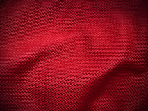 Nylon vermelho foto de stock