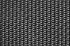 Nylon webbing. Closeup of black nylon webbing stock photos