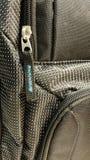 Nylon Zipper Stock Photo
