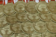 Nymburk,捷克, 2017年11月4日:捷克跆拳道ITF在Nymburk,捷克的冠军 免版税库存图片