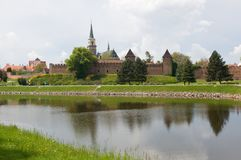 Nymburk Tjeckien Arkivfoto