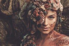 Nymfkvinna arkivfoto