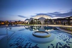 Nymphaea Aquapark w Oradea, Rumunia Fotografia Royalty Free