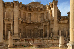 Nymphaeum, Jerash Photo libre de droits