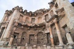 Nymphaeum - Jerash, Jordan Stock Images