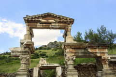 Nymphaeum Trajan w Ephesus, Turcja Obraz Royalty Free