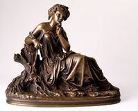 Nymphe antique Images libres de droits