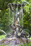 Nymphe de fontaine, Riga, Lettonie Photo stock