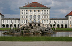 Nymphenbur castle,munich. Nymphenburg castle in munich, germany Royalty Free Stock Images
