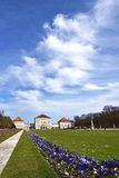 Nymphenburg宫殿公园,慕尼黑 免版税图库摄影