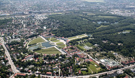 Nymphenburg宫殿 免版税图库摄影