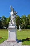 Nymphenburg, άγαλμα στον κήπο Στοκ Εικόνες