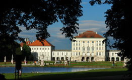 nymphenburg παλάτι Στοκ εικόνα με δικαίωμα ελεύθερης χρήσης