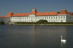 城堡nymphenburg 库存图片