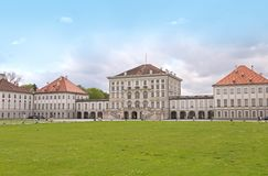 Nymphenburg castle Royalty Free Stock Photography