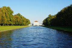 Nymphenburg Castle  Stock Image
