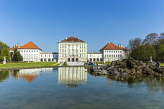 Nymphenburg castle grounds in Munich Royalty Free Stock Photo