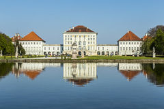 Nymphenburg castle grounds in Munich Royalty Free Stock Photos