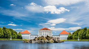 Nymphenburg castle in Minuch Germany Stock Photos