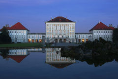 Nymphenburg Castle Munich Stock Image