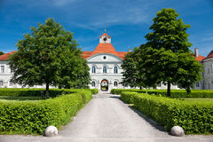 Nymphenburg castle in Munich, Germany Royalty Free Stock Images