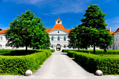 Nymphenburg castle, side entrance Stock Photography