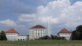 Nymphenburg fontanna w Monachium i pałac, Niemcy zdjęcie wideo