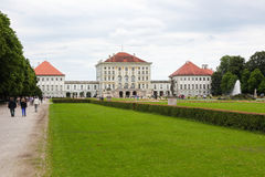 Nymphenburg pałac Fotografia Stock