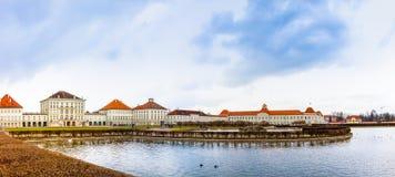 Nymphenburg Pałac Fotografia Royalty Free