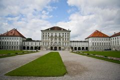The Nymphenburg Palace. In Munich, Germany Stock Photos