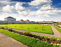 The Nymphenburg Palace Stock Images