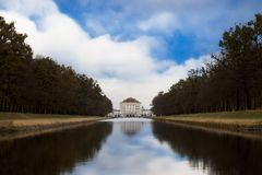 The Nymphenburg Palace Stock Photography