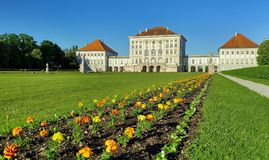 Nymphenburg Palace Royalty Free Stock Photo