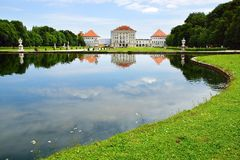 Nymphenburg Palace, Munich Royalty Free Stock Photography
