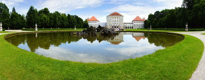 Nymphenburg Palace, Munich Royalty Free Stock Photos