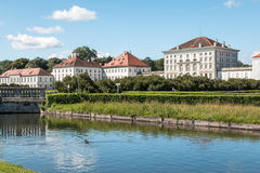 Nymphenburg Palace in Munich Bavaria Germany Stock Photography
