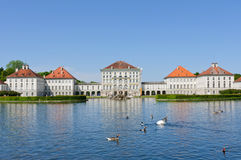 Nymphenburg Palace in Munich, Germany Royalty Free Stock Image