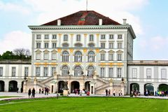 The Nymphenburg Palace in Munich Germany Stock Image