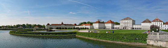 The Nymphenburg Palace, Munich Stock Photos