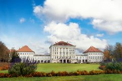 The Nymphenburg Palace Royalty Free Stock Images